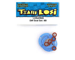 losi differential seal set losa3505 cars u0026 trucks amain hobbies
