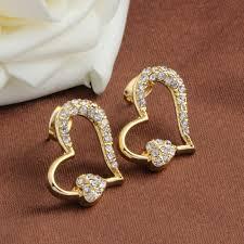 simple gold earrings new style stud earrings 2016 oorbellen simple gold earrings for