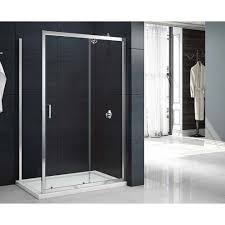 merlyn new mbox shower 900mm bi fold door