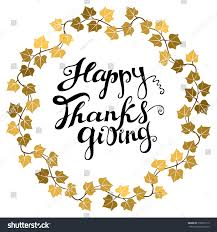 happy thanksgiving greetings happy thanksgiving card hand drawn celebration stock vector