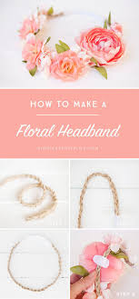 how to make baby flower headbands best 25 baby flower crown ideas on diy flower crown