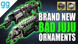 destiny new bad juju ornaments dragonsbane hoodoom