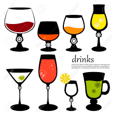 wine glass silhouette smiley faces clip art free vector for free download about