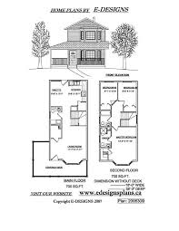 2 story house plans small lot home shape
