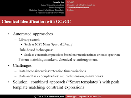 smart templates for chemical identification in gcxgc ms qingping