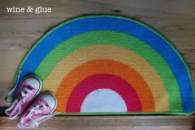 Teen Rug Rugs Round Rainbow Rug For Your Teen Room Decor