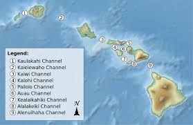 Channel Islands Map Channels Of The Hawaiian Islands Wikipedia