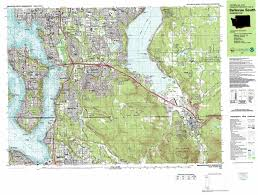 Seattle Washington Map by Issaquah Topographic Map Wa Usgs Topo Quad 47122e1