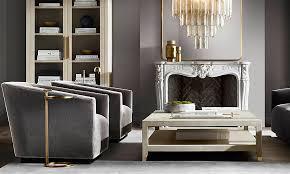 living room modern ideas rh modern living room design restoration hardware in rooms ideas 19