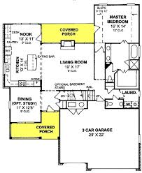 4 bedrm 2180 sq ft country house plan 178 1334