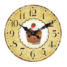 Wohnzimmer Uhren Holz Wanduhr Uhren Dekouhr Vintage Holz 34cm Shabby Romantik Landhaus