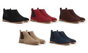 groupon s boots gino pheroni s chelsea boots groupon goods