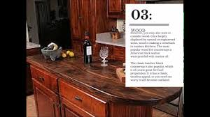 kitchen countertop trends for 2016 youtube