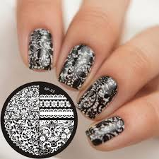 online get cheap lace nail art stamp aliexpress com alibaba group