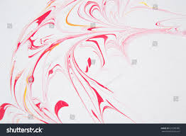 abstract mixing waterbased latex paint stock photo 631290788
