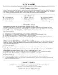 human resources resume exles human resource resume sles ideas of entry level human resources