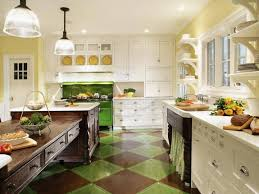 Sage Green Kitchen Ideas - kitchen green and blue kitchen ideas colorful kitchen design oak