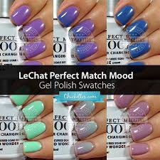 mood polish u2013 chickettes soak off gel polish swatches nail art