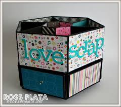 Origami Desk Organizer Caja Organizadora Para Escritorio Box Desk Organizer Organizer