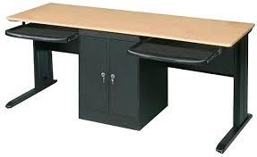 Desks For Computers Desks For Two Computers Pers Ergomic Staples Desks Computers