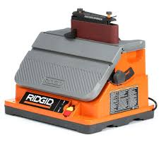 home depot black friday ridgid tools ridgid oscillating edge belt spindle sander eb4424 the home depot