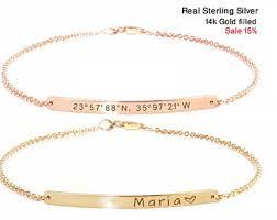 personalized bracelet personalized couples bracelets etsy