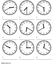 how to tell time worksheets free worksheets library download and