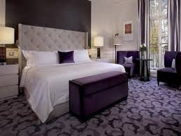 attractive gray and purple bedroom ideas pertaining to interior