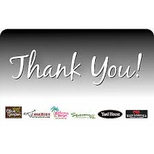 longhorn gift cards thank you appreciation gift cards ebay