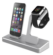 Phone Charging Stand by Mfi Power Station Charging Docking For Iphone Mfi Aluminum Apple