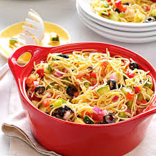 california pasta salad recipe taste of home