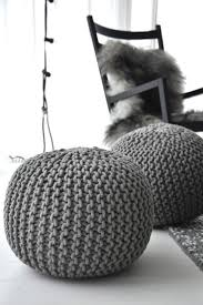 best 25 knitted pouffe ideas on pinterest knitted pouf grey