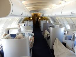 Ba Flights To Usa Map by British Airways Boeing 747 Business Class Upper Cabin London To