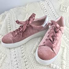 pink velvet ribbon 60 steven by steve madden shoes steven by steve madden pink