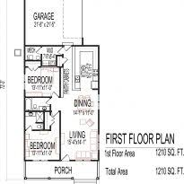 catchy collections of single story open floor house plans