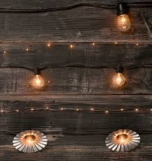 copper globe string lights 40 g12 clear bulb string lights rejuvenation