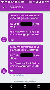 Big Bazaar Home Decor by Big Bazar Rs 200 Flat On Rs 750 Account Specific Deals
