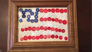 american flag button craft for kids youtube