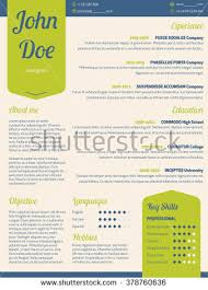 Resume Curriculum Vitae Samples by New Modern Resume Cv Curriculum Vitae Stock Vector 381723124