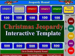 100 jeopardy printable template making a jeopardy game board in
