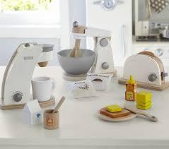 wooden appliances pottery barn kids