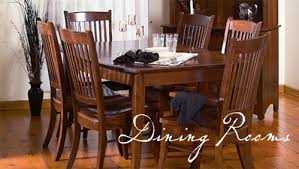 Our Amish Crafted Furniture - Amish dining room table