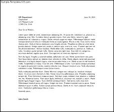 modern latex cover letter pdf format free download sample templates