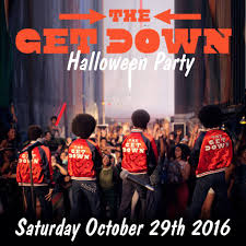 the get down old halloween costume party