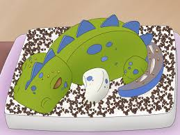 dinosaur birthday cake how to make a 3d dinosaur birthday cake 15 steps with pictures