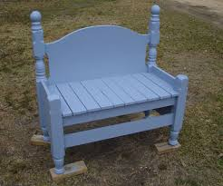 diy craft projects benches from old beds trash to treasure