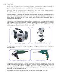 Uses Of A Bench Grinder - tools valves u0026 materials for marine use