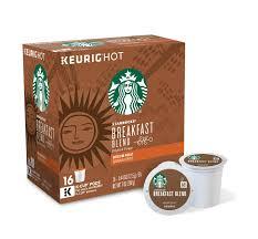 keurig starbucks breakfast blend coffee k cups pack of 96