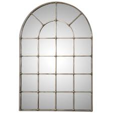 barwell forged metal with oxidized plated silver arch window