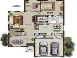 Up House Floor Plan by 3d Plan Of A House 4 Bedroom 4 Bedroom House Floor Plans 3d House